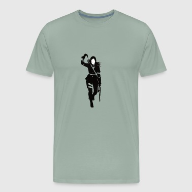 Lara Croft - Men's Premium T-Shirt