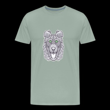 bulldog margarita - Men's Premium T-Shirt