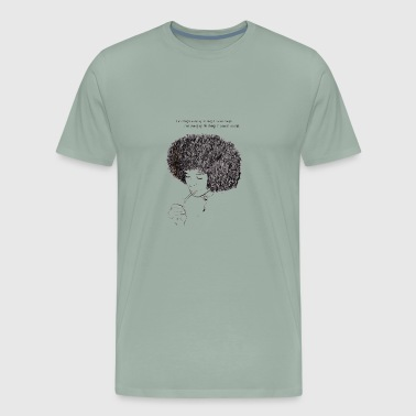Angela Davis - Men's Premium T-Shirt