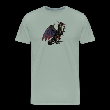 Terrifying Dragon - Men's Premium T-Shirt