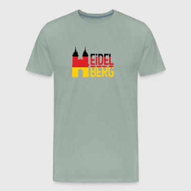 Heidelberg Bridge Gate - Men's Premium T-Shirt