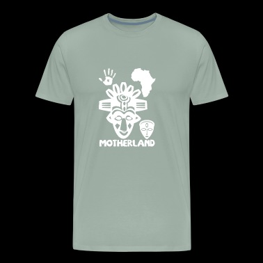 motherland wite - Men's Premium T-Shirt