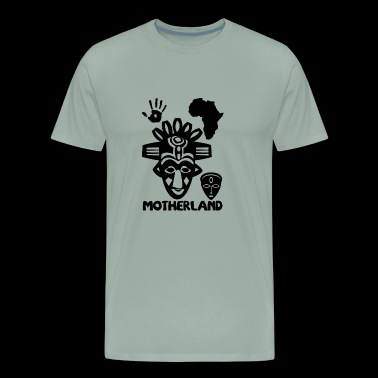 motherland blak - Men's Premium T-Shirt