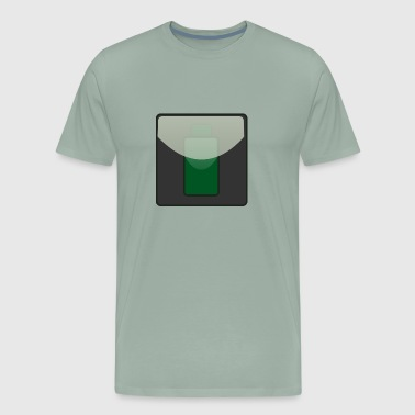 Battery icon 1 - Men's Premium T-Shirt
