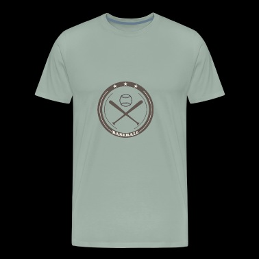 baseball logo club - Men's Premium T-Shirt