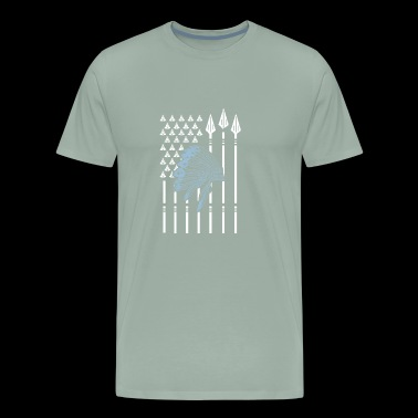 Native American Native American flag - Men's Premium T-Shirt