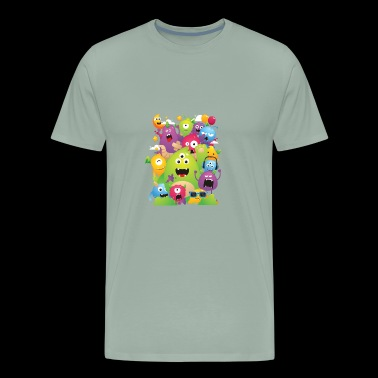Monster Party - Men's Premium T-Shirt