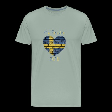 My Favorite is Sweden - Men's Premium T-Shirt