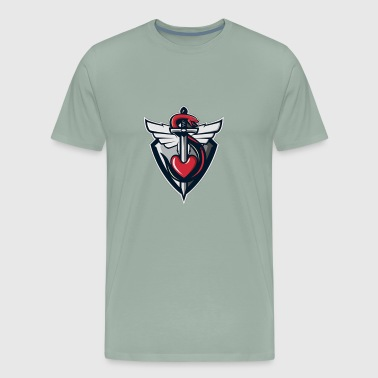 Cool heart logo - Men's Premium T-Shirt
