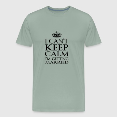 getting married - Men's Premium T-Shirt