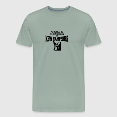 Id rather be rock climbing - Men's Premium T-Shirt