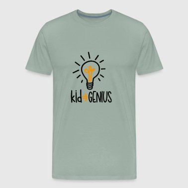 Kid genius - Men's Premium T-Shirt