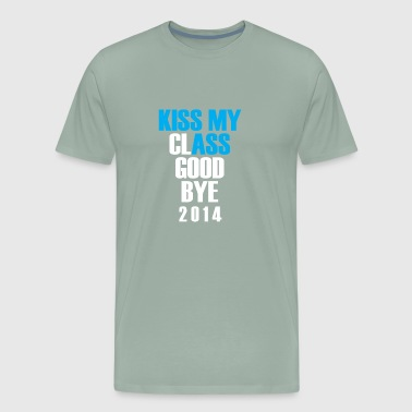 Kiss my class goodbye - Men's Premium T-Shirt