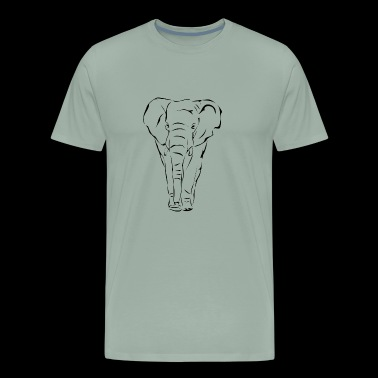 Art Elephant Gift Kids - Men's Premium T-Shirt