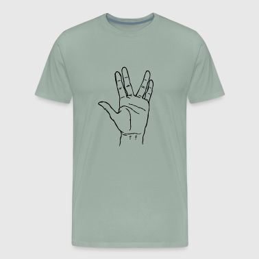 Alien/Westside - Men's Premium T-Shirt