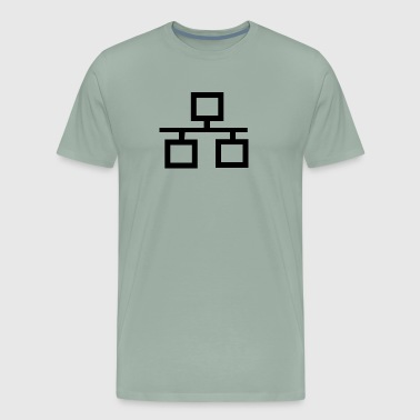 Ethernet Logo - Men's Premium T-Shirt