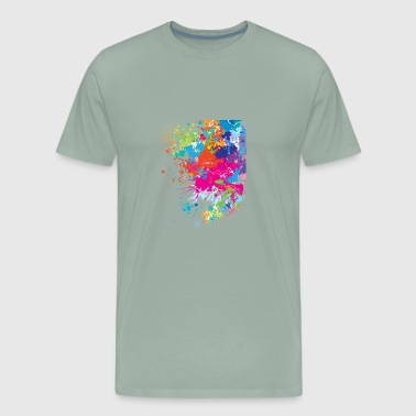 Printed art - Men's Premium T-Shirt