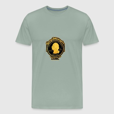George Waxhington Extracts Presidential Class - Men's Premium T-Shirt