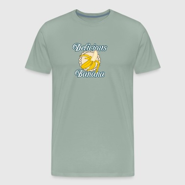 Delicious Banana T-Shirt Design - Men's Premium T-Shirt