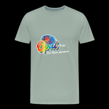 Opal Birthstone Gem - Men's Premium T-Shirt