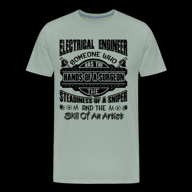 Electrical Engineer Job Shirt - Men's Premium T-Shirt