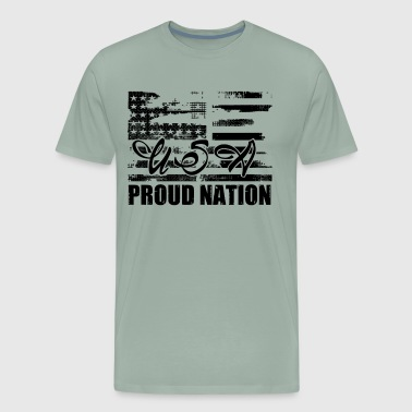 USA Proud Nation Patriots Shirt - Men's Premium T-Shirt