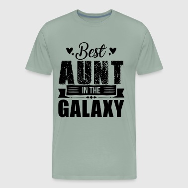 Best Aunt In The Galaxy Shirt - Men's Premium T-Shirt