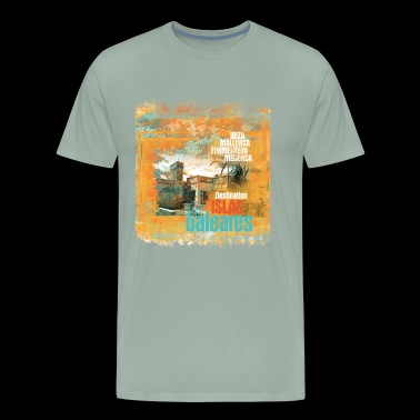 destination baleares - Men's Premium T-Shirt