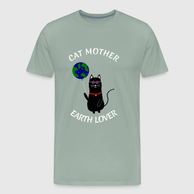 CAT MOTHER EATH LOVER MOTHERS DAY GIFT HIPPIE TOM - Men's Premium T-Shirt