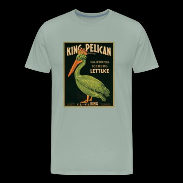 KING PELICAN - Men's Premium T-Shirt