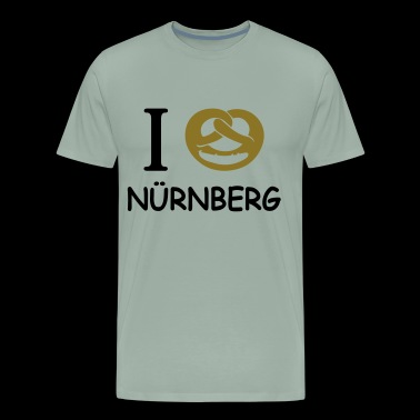 I love Nuernberg - Men's Premium T-Shirt