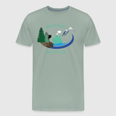 North to Alaska - Aqua - Men's Premium T-Shirt