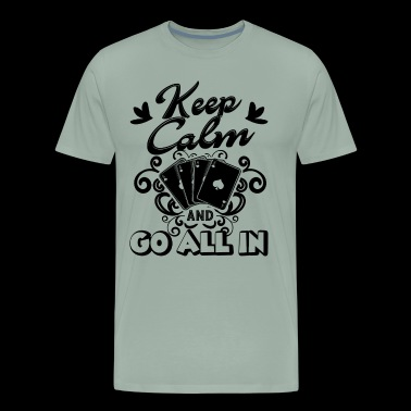 Poker Go All In Shirt - Men's Premium T-Shirt