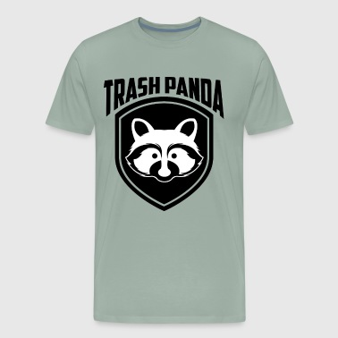 Cute Trash Panda Raccoon, Save The Trash Panda - Men's Premium T-Shirt