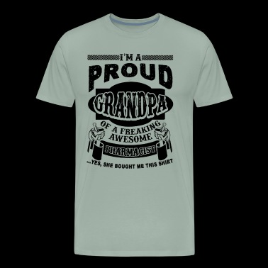 Proud Pharmacist Grandpa Shirt - Men's Premium T-Shirt