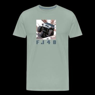 FJ40 MOAB HELLS GATE - Men's Premium T-Shirt