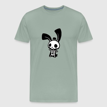 bunny skeleton - Men's Premium T-Shirt