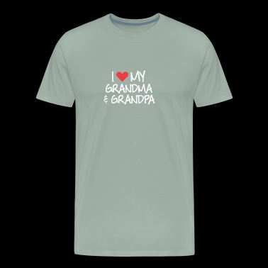 I love My Grandpa Grandma - Men's Premium T-Shirt