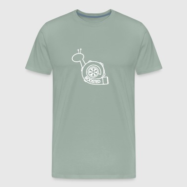 Boosted Turbo Snail - Men's Premium T-Shirt