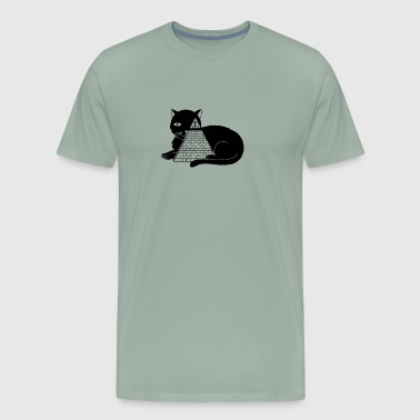 Cat Illuminati - Men's Premium T-Shirt