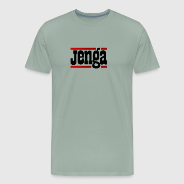 Jenga Board Game - Men's Premium T-Shirt