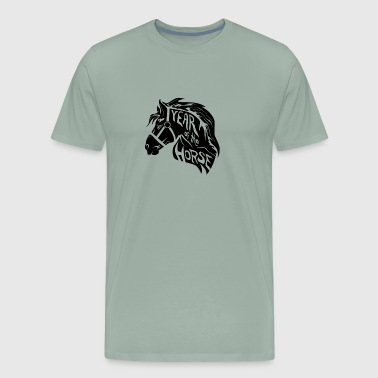 The Vault Year of the Horse - Men's Premium T-Shirt