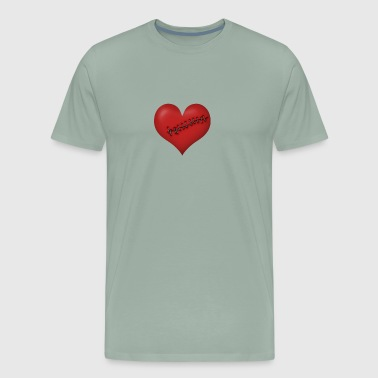 TOP SELLING PW939 Healed Heart We're All - Men's Premium T-Shirt