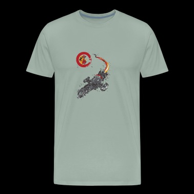 A LEAF ON THE WIND - Men's Premium T-Shirt
