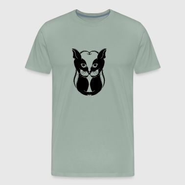 New Design When the Cat s Away the Mice will Play - Men's Premium T-Shirt