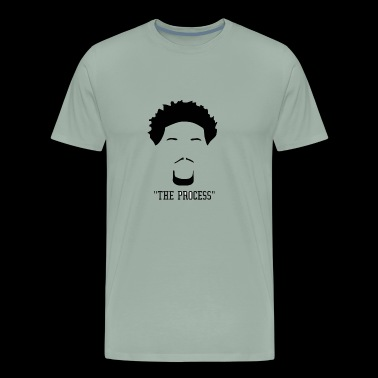 the process - Men's Premium T-Shirt