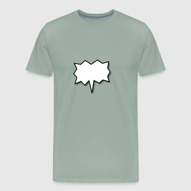 Speech Balloon - Men's Premium T-Shirt