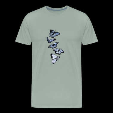 Array of Butterflies - Men's Premium T-Shirt