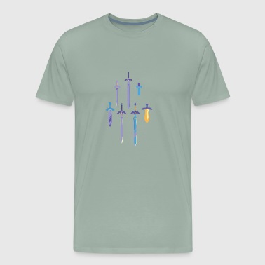 Master Swords - Men's Premium T-Shirt