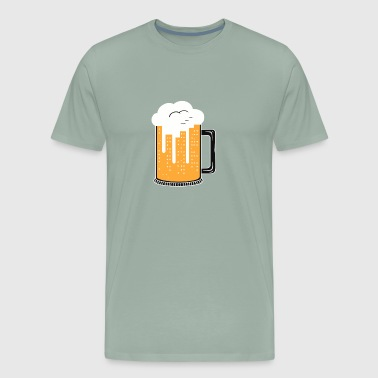 City Beer funny tshirt - Men's Premium T-Shirt